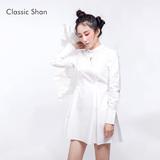 ClassicShan原创设计衬衫裙